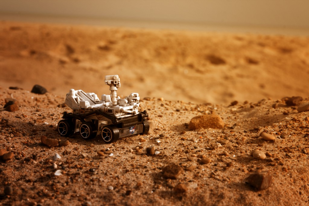 Mars Curiosity by Dave Mathis under CC licence